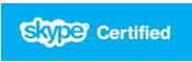 Skype certified