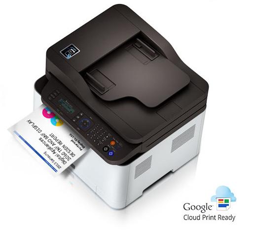 samsung c460fw color laser multifunction printer copier scanner fax machine