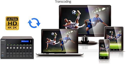 Qnap TS-451+ High Performance 4-Bay Cloud NAS w/ Remote