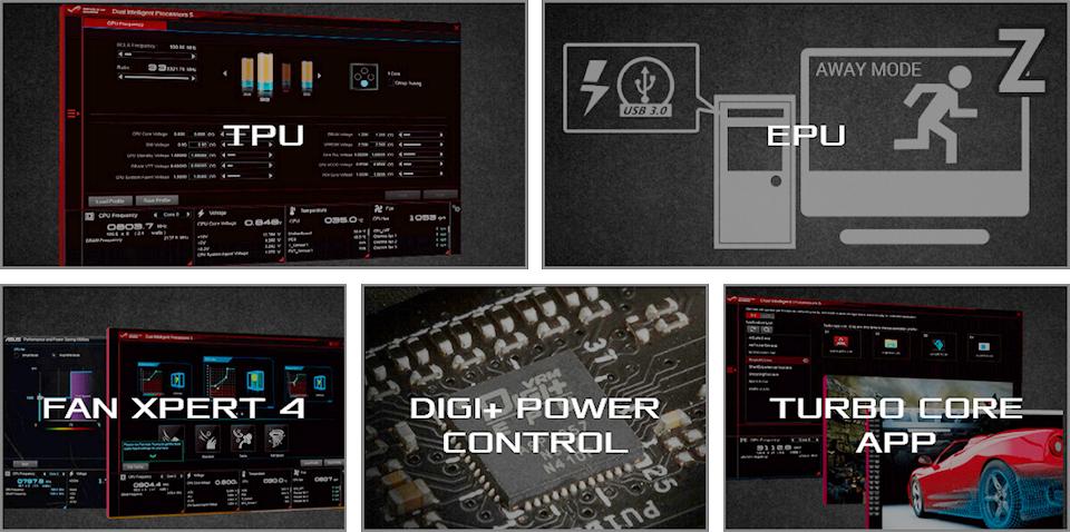 Asus ROG CROSSHAIR VII HERO w/ DDR4 2666, 7 1 Audio, Dual M 2