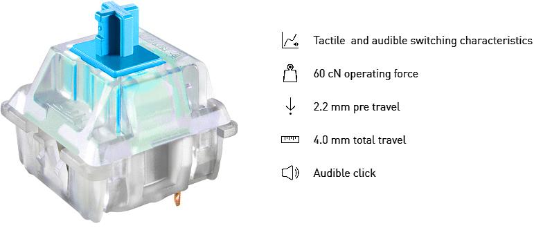 Thermaltake Premium X1 RGB LED Mechanical Gaming Keyboard ...