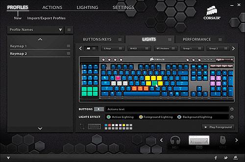 Corsair Gaming K95 RGB Platinum Mechanical Keyboard