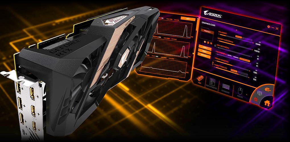 Gigabyte AORUS GeForce RTX™ 2080 XTREME 8G 8GB PCI-E w