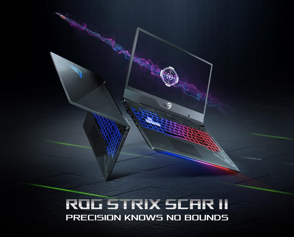 ROG STRIX SCAR II - Precision Knows No Bounds