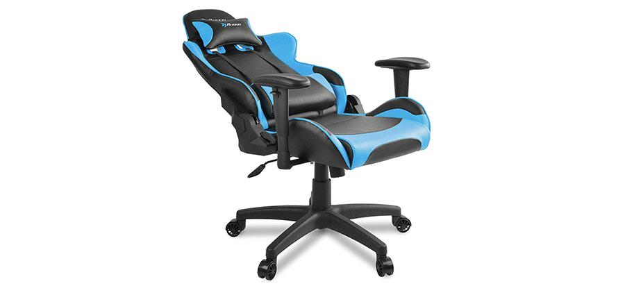 Wondrous Arozzi Verona V2 Gaming Chair Black W Blue Office Machost Co Dining Chair Design Ideas Machostcouk