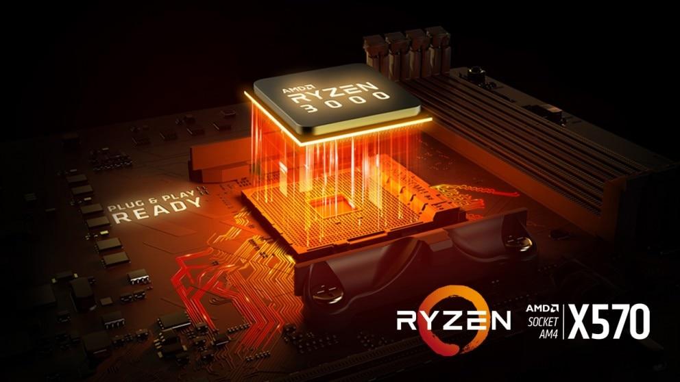 AMD Ryzen™ 7 3700X Processor, 3 6GHz w/ 40MB Cache - AMD AM4