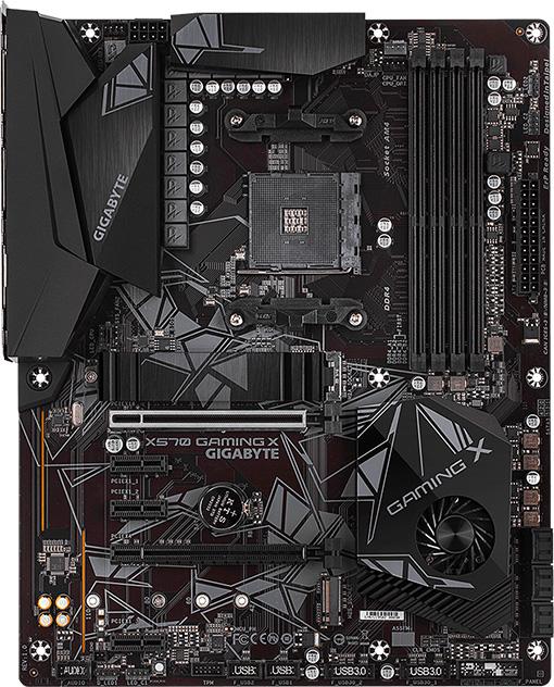 Gigabyte X570 GAMING X w/ DDR4-3200, 7 1 Audio, Gigabit LAN