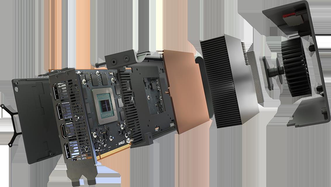 XFX Radeon RX 5700 XT 8GB PCI-E w/ HDMI, Triple DP - PCI-E