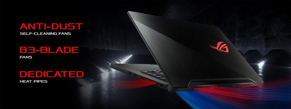 Asus ROG Zephyrus M GU502GU-XB74 w/ Core™ i7-9750H, 16GB