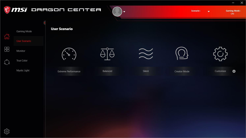 Afterburner UI