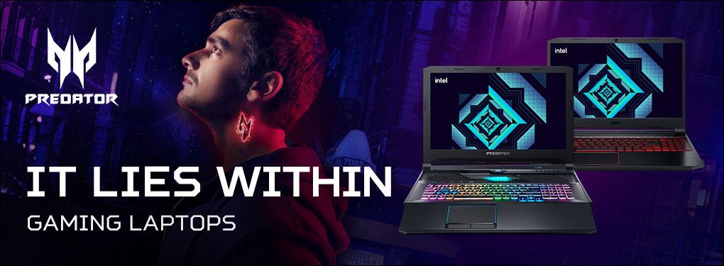 Acer Predator Gaming Laptops - It Lies Within