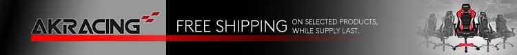 AK Racing Summer Promo Free Shipping ( July 28 - Aug 31, 2021 )