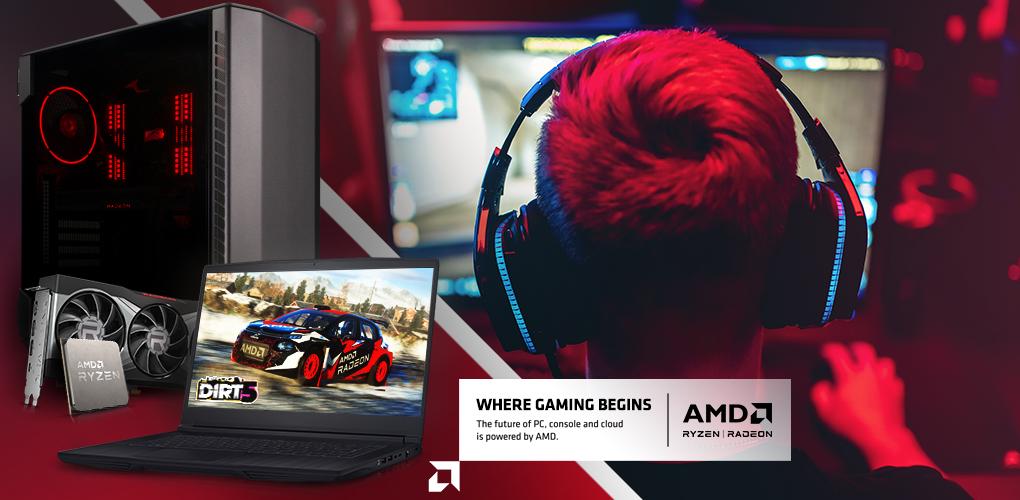 AMD New 2021 Gaming Focus  (Feb 1 - Feb 28 ,2021)