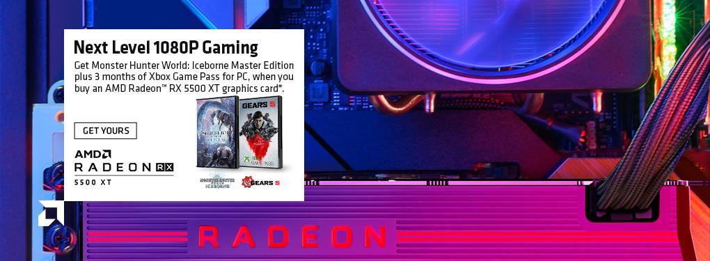 AMD Radeon RX 5500 XT - Next Level 1080p Gaming