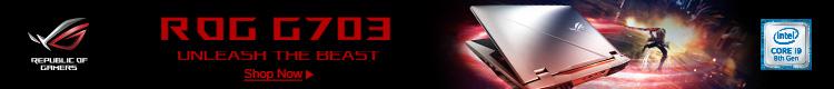 Asus ROG G703: Unleash the Beast (Aug 1 - 16)