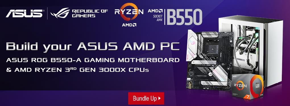ASUS Motherboard RYZEN Processor Bundle DYPC Promo