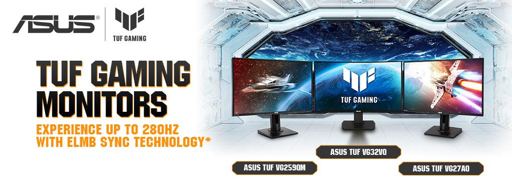 ASUS TUF Gaming Monitors ( March 5 - April 30, 2021 )