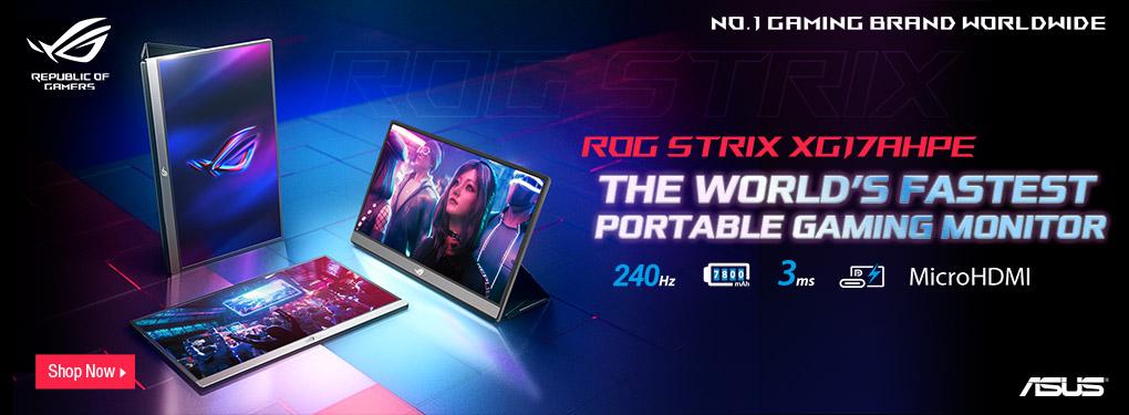 Asus ROG Strix XG17 Series Gaming Monitors