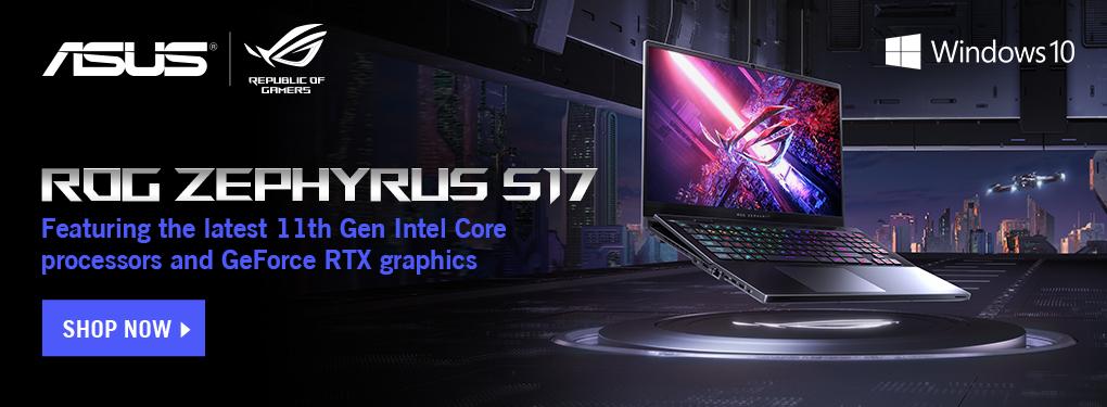 ASUS Zephyrus  Gaming Laptop  July 25 - Aug 15, 2021