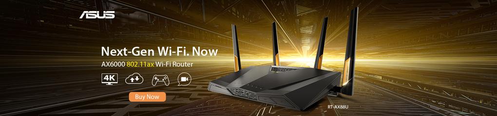 Next Gen Wi-Fi Now: AX6000 802.11ax Wi-Fi Router (Jan 7 - 27, 2019)