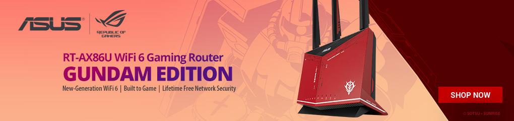 Asus RT-AX86U GUNDAM ZAKU Wireless Router ( June 4 - July 4, 2021)
