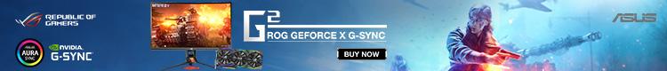ROG GeForce x G-Sync (May 6 - 20)