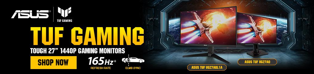 ASUS TUF GAMING 27in 1440p Gaming Monitors - SHOP NOW!