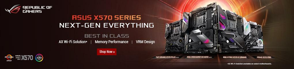 Asus X570 Series - Next-Gen EVERYTHING