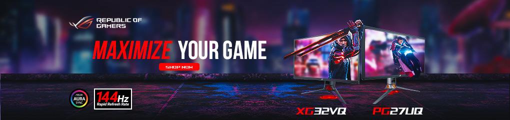 Maximize Your Game: XG + PG Monitors (June 1 - 30)