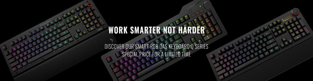 Das Keyboard Smart Keyboards - Save up to $60 off!