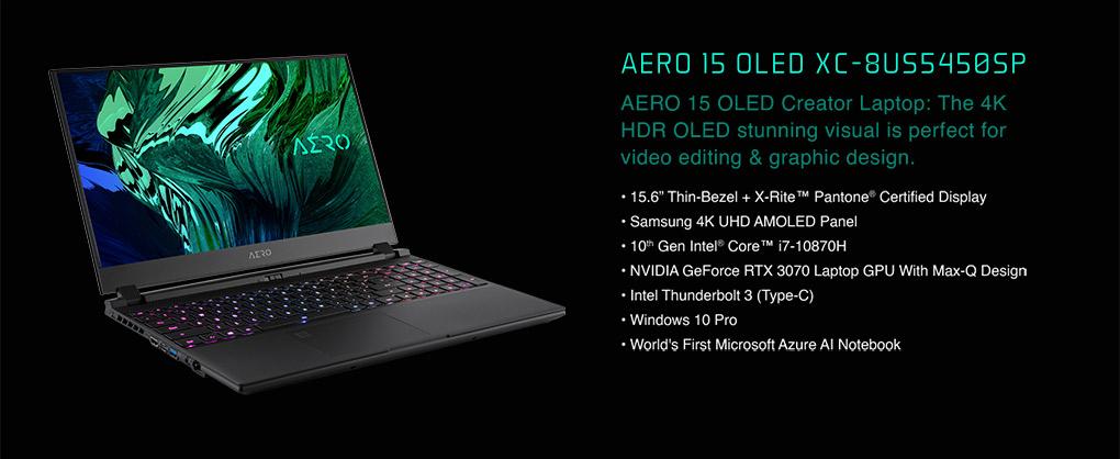 Performance Above All - Gigabyte AERO GeForce RTX 30 Laptops