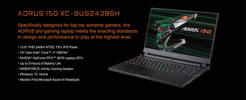 Performance Above All - Gigabyte AORUS GeForce RTX 30 Laptops