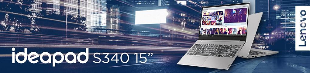 Lenovo IdeaPad S340 - Ultraslim 15in Laptop powered by Intel