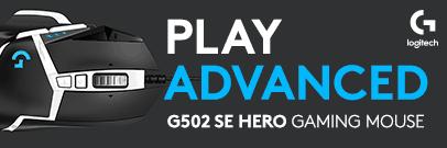Logitech G502 SE HERO Gaming Mouse. High-performance reborn.