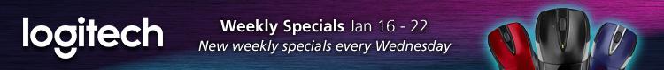 Logitech Weekly Specials