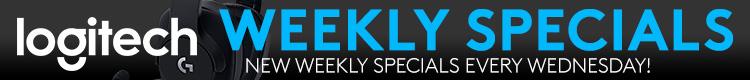 Logitech Weekly Specials (Oct 16-22, 2019)