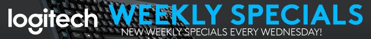 Logitech Weekly Specials (Nov 13-19, 2019)