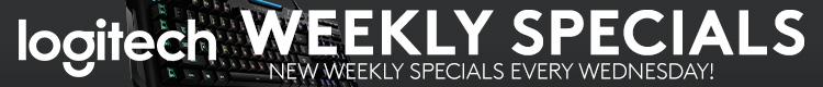 Logitech Weekly Specials (Feb 19-25, 2020)