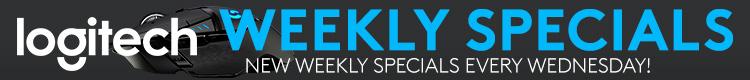 Logitech Weekly Specials (Mar 25-31, 2020)