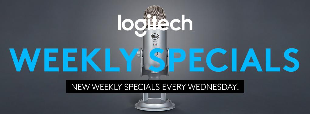 Logitech Weekly Specials (Apr 1-7, 2020)
