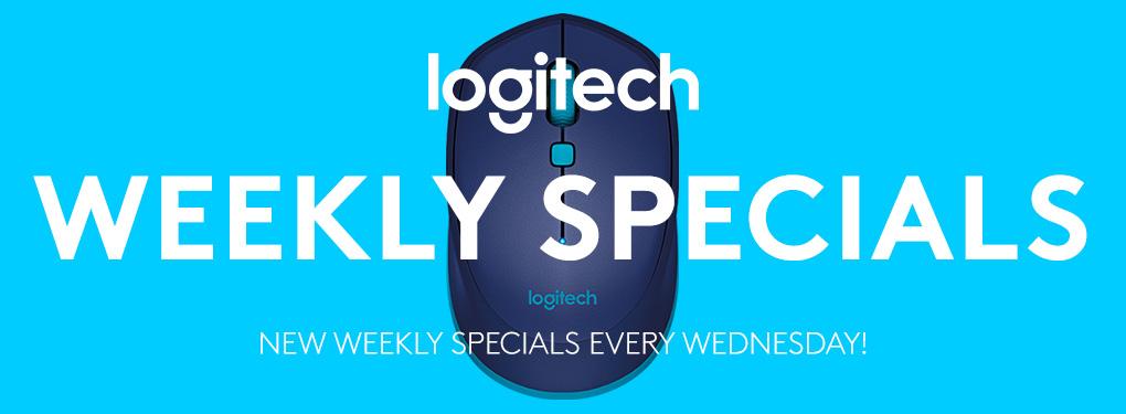 Logitech Weekly Specials (Oct 20 - 26, 2021)