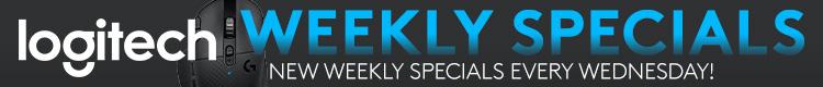 Logitech Weekly Specials (Jul 8-14, 2020)