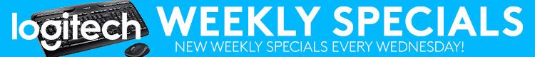 Logitech Weekly Specials (Oct 21 - Oct 27, 2020)