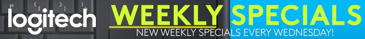 Logitech Weekly Specials (Jan 20 - Jan 26, 2021)