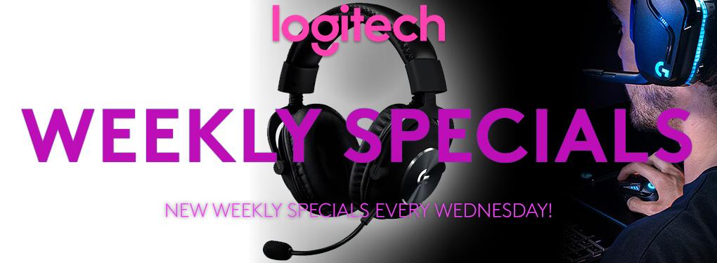 Logitech Weekly Specials ( Mar 3 - Mar 9 , 2021)