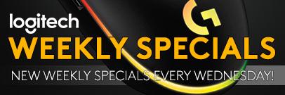 Logitech Weekly Specials ( April 7 - 13 , 2021)