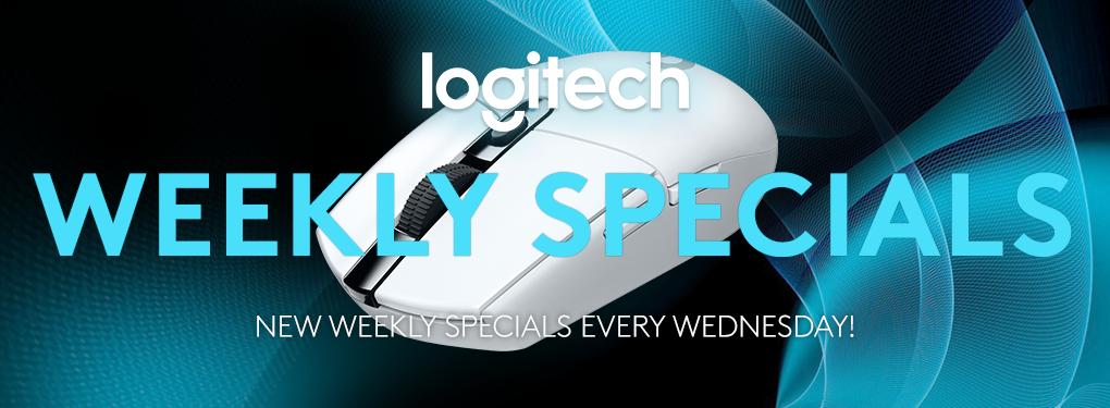 Logitech Weekly Specials (April 21 - April 27, 2021)