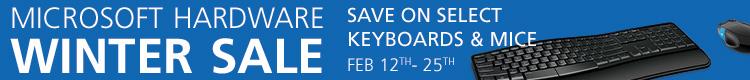 Microsoft Hardware Sale - Save on Microsoft Keyboards and Mice! (Feb 12-25)