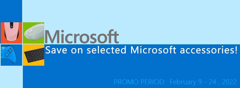 Microsoft Save on Accessories Promo