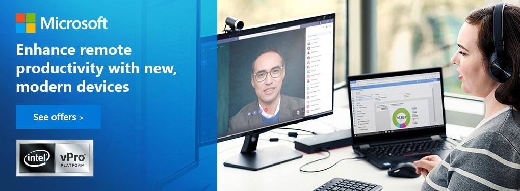 Make the shift to WIndows 10 and Microsoft 365